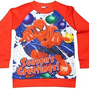 Spiderman Christmas Jumpers – Christmas Jumper Club