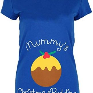 7ccf2d623d3fc Womens Xmas T Shirt Ladies Mummy's Christmas Pudding Novelty Cap Sleeve Top
