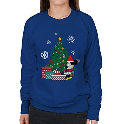 new kids childrens boys girls disney minnie mouse cartoon character christmas sweatshirt jumpers 2 14 years