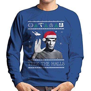 Star Trek Christmas Jumpers Christmas Jumper Club