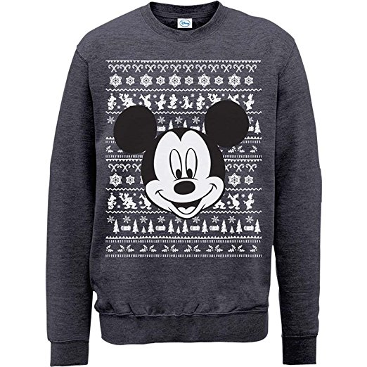 Mickey Mouse Christmas Jumpers Christmas Jumper Club