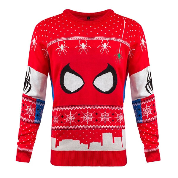 9ca89b579ac Spiderman Christmas Jumpers | Christmas Jumper Club