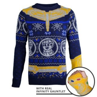 433acd08aeb Marvel Avengers Thanos Knitted Christmas Jumper
